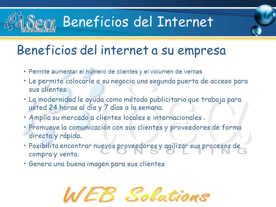 Beneficios del Internet