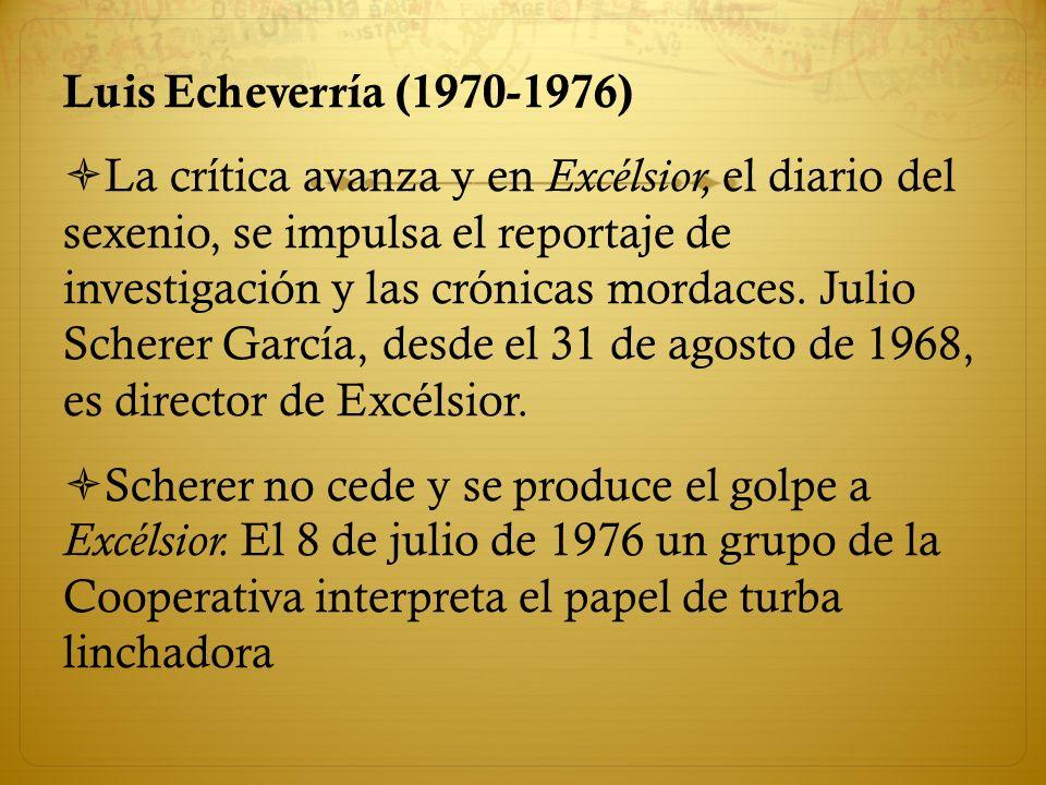 Luis Echeverría (1970-1976)