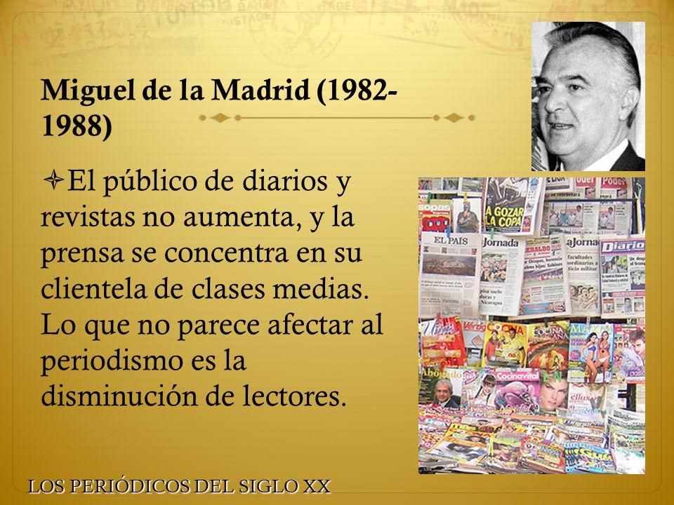 Miguel de la Madrid (1982- 1988)
