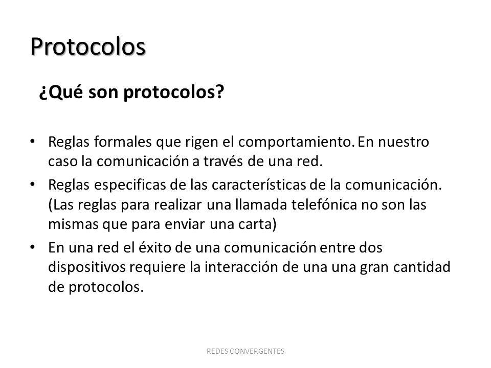 Protocolos ¿Qué son protocolos