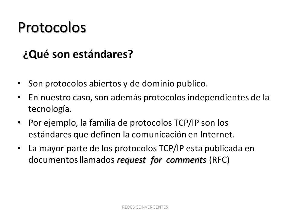 Protocolos ¿Qué son estándares