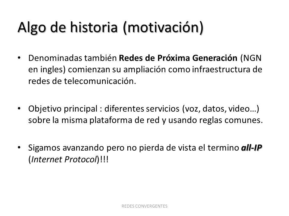 Algo de historia (motivación)