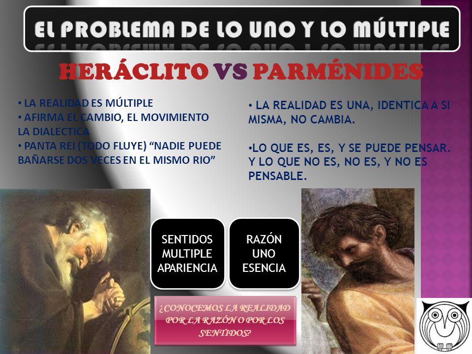 EL PROBLEMA DE LO UNO Y LO MÚLTIPLE