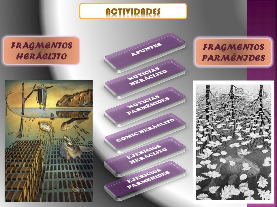 FRAGMENTOS PARMÉNIDES