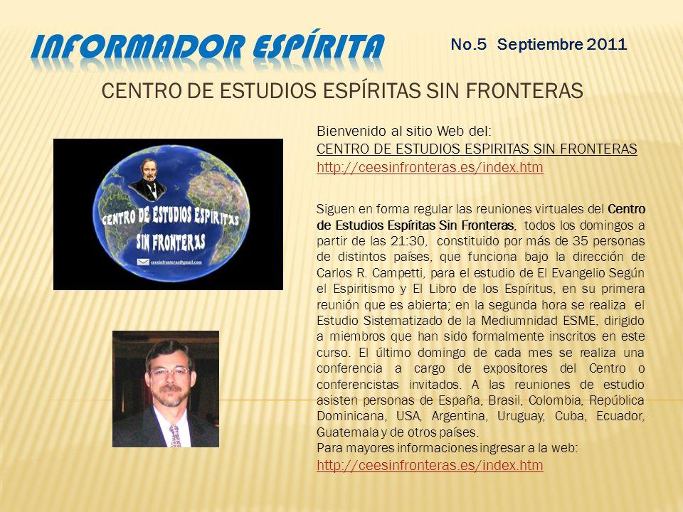 CENTRO DE ESTUDIOS ESPÍRITAS SIN FRONTERAS