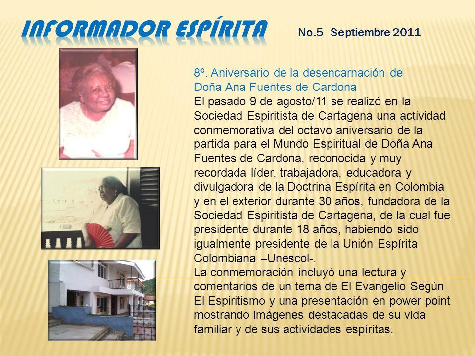 informador espírita No.5 Septiembre 2011