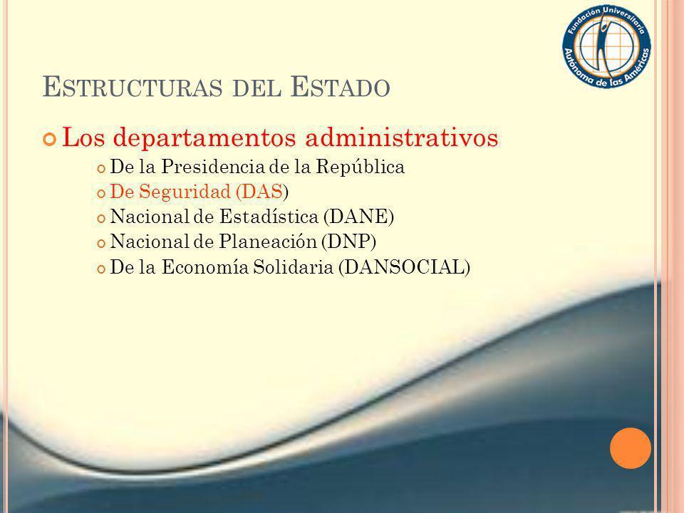 Estructuras del Estado