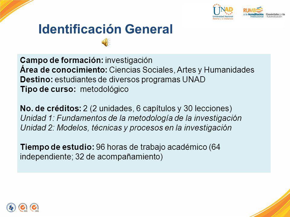 Identificación General