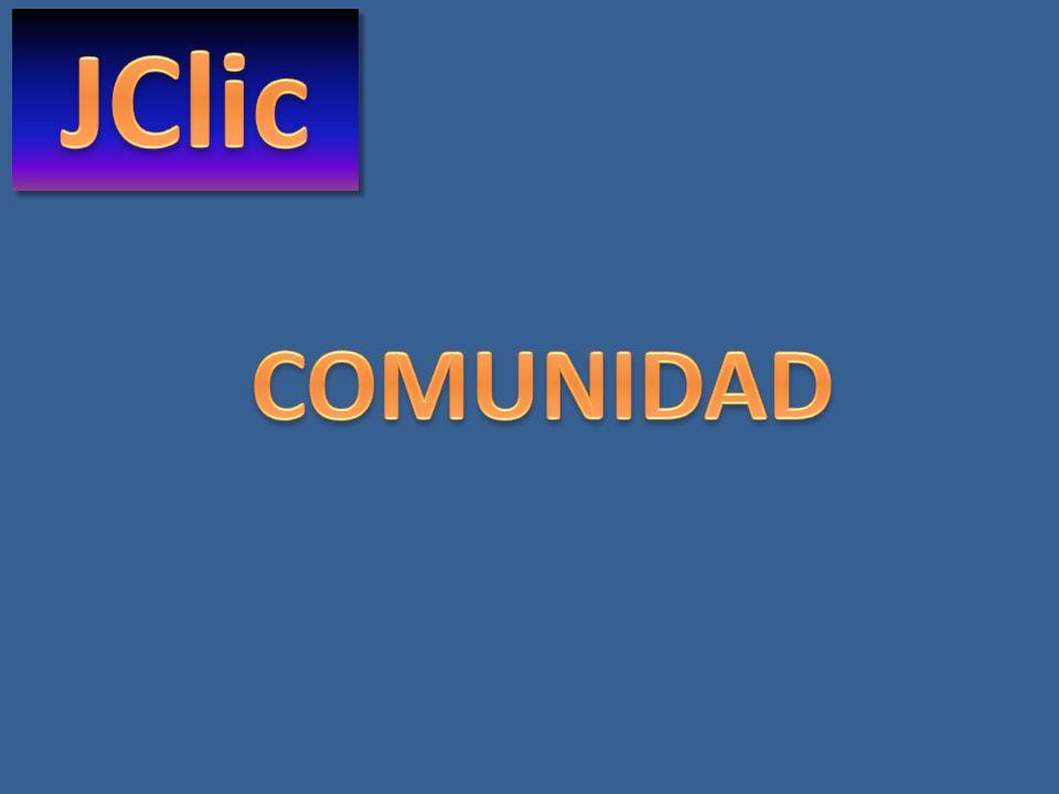JClic COMUNIDAD