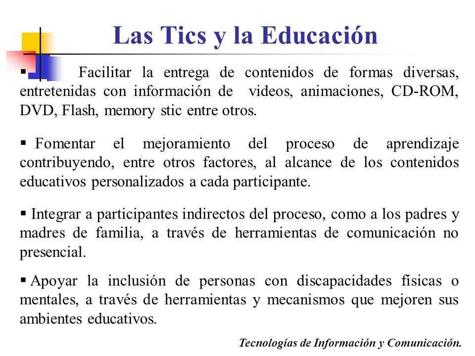 Las Tics y la Educación