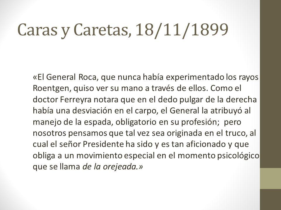 Caras y Caretas, 18/11/1899