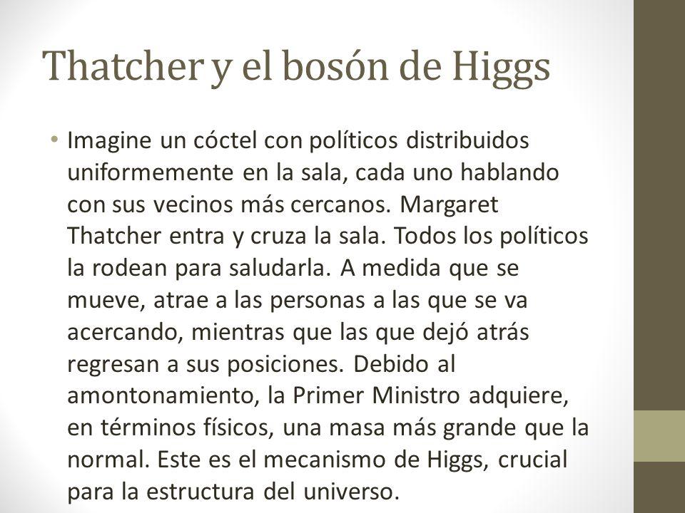 Thatcher y el bosón de Higgs
