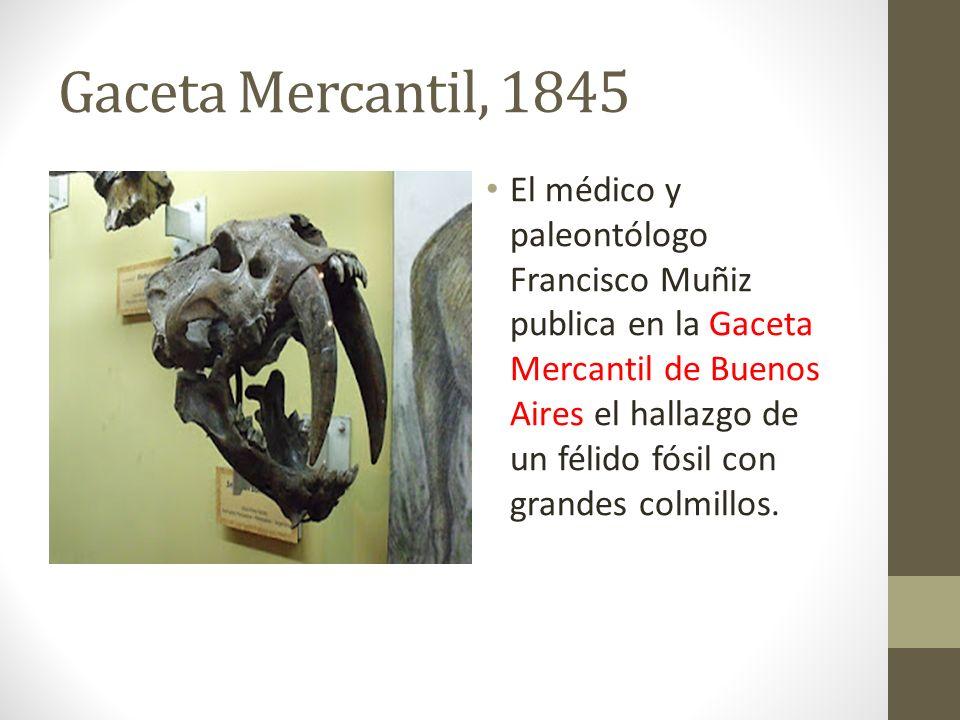 Gaceta Mercantil, 1845