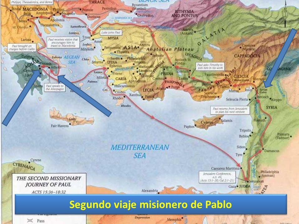 Segundo viaje misionero de Pablo
