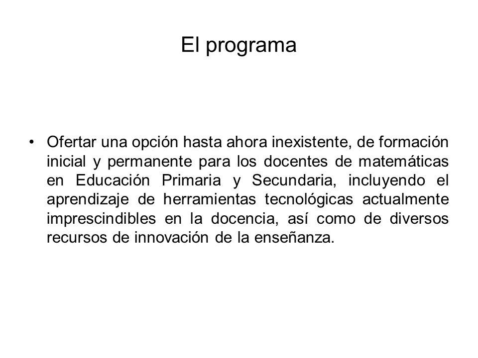 El programa