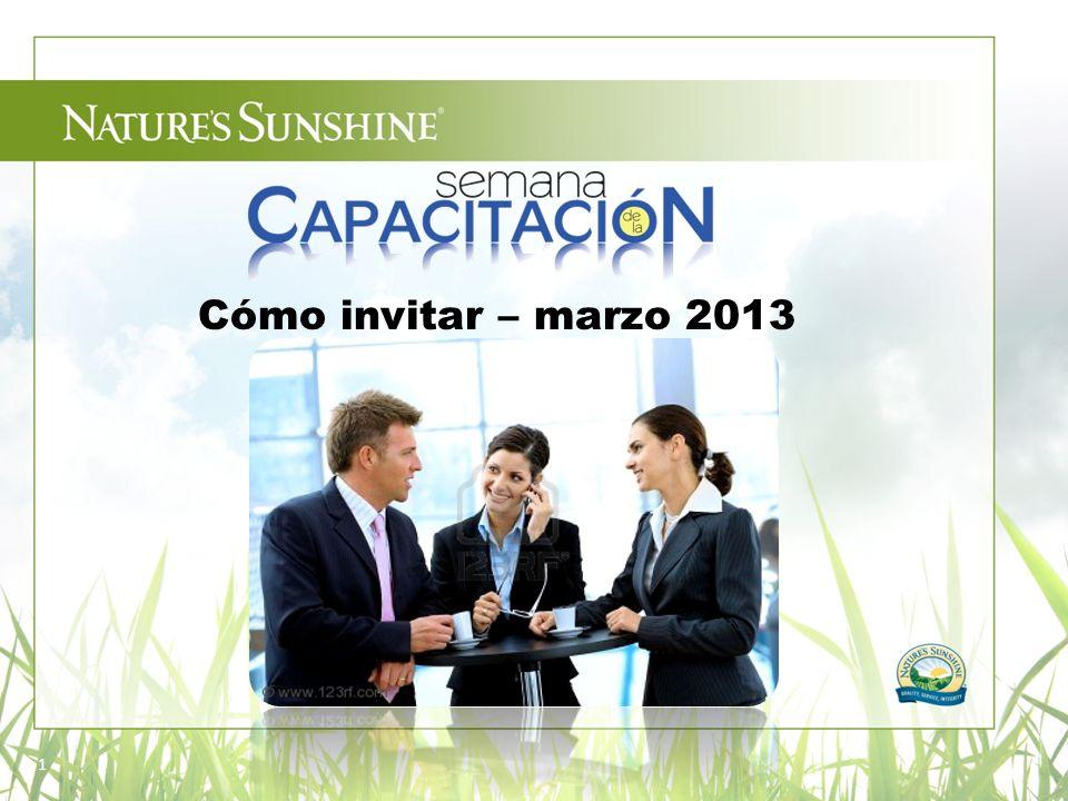Cómo invitar – marzo 2013