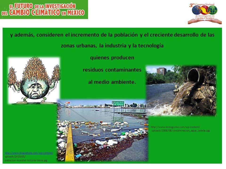 residuos contaminantes