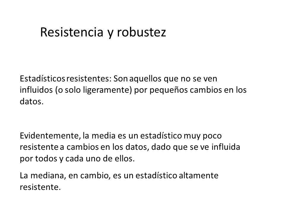 Resistencia y robustez