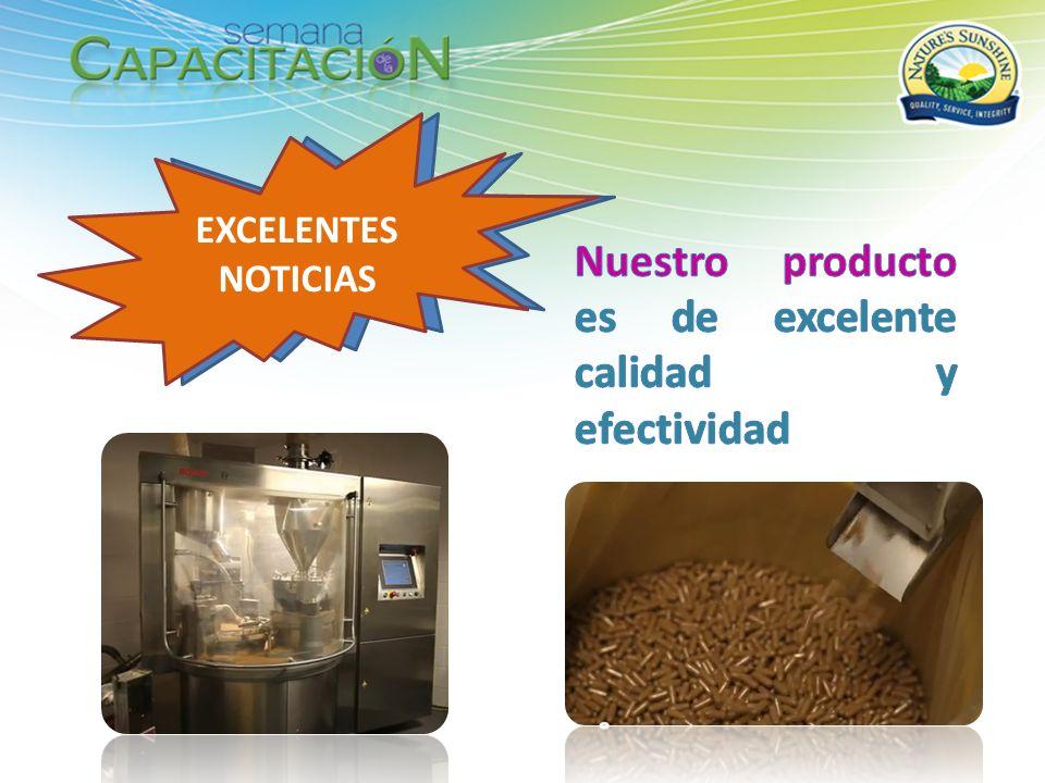 Nuestro producto es de excelente calidad y efectividad