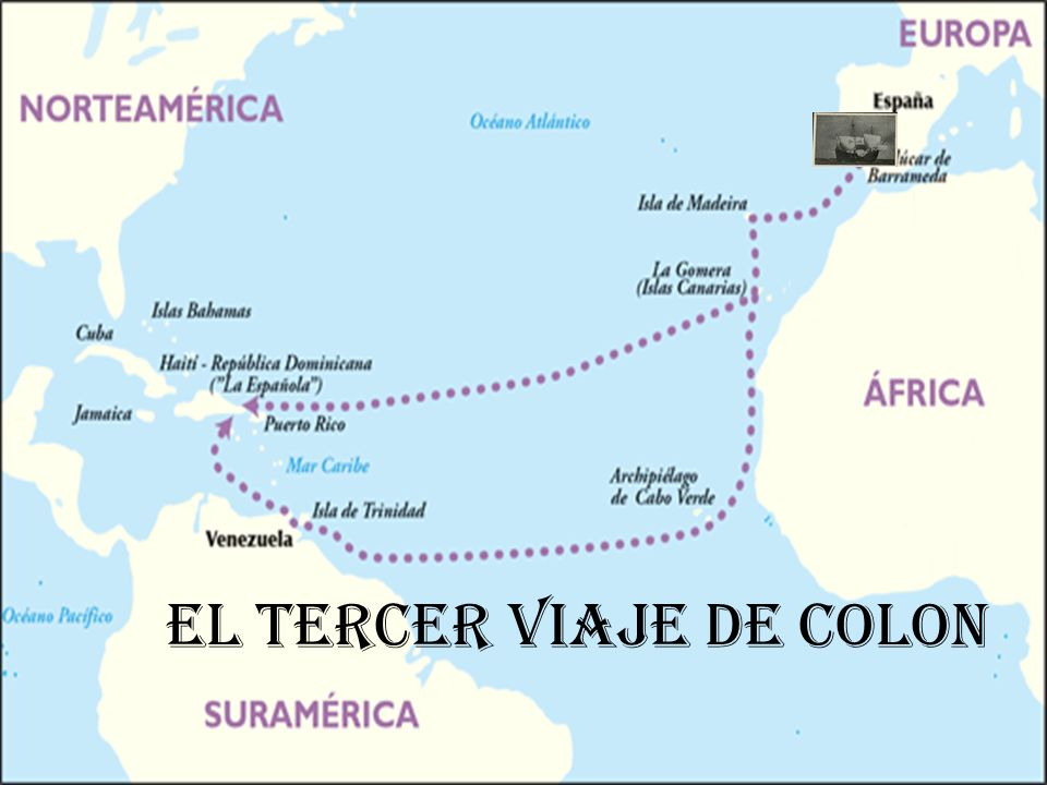 El tercer viaje de Colón