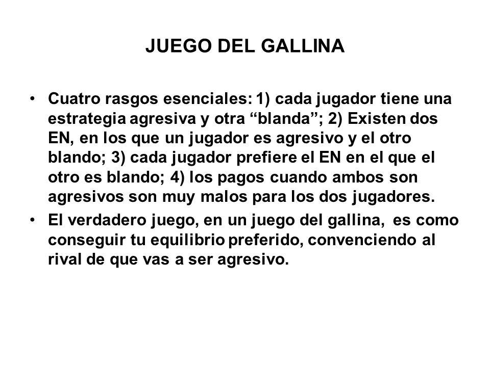 JUEGO DEL GALLINA
