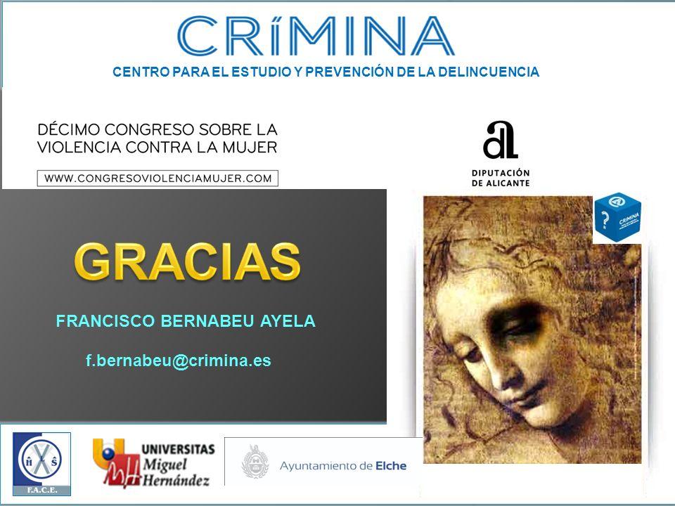 GRACIAS FRANCISCO BERNABEU AYELA f.bernabeu@crimina.es