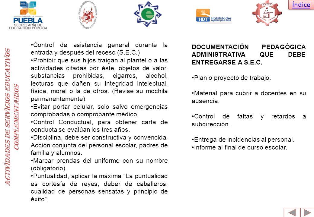 ACTIVIDADES DE SERVICIOS EDUCATIVOS COMPLEMENTARIOS