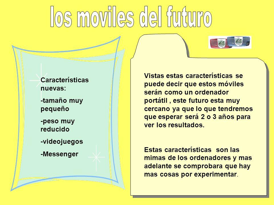 los moviles del futuro