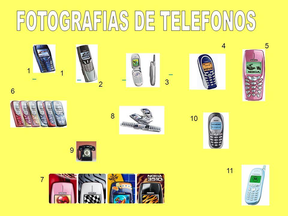 FOTOGRAFIAS DE TELEFONOS