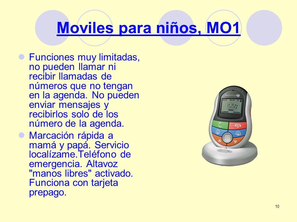 Moviles para niños, MO1