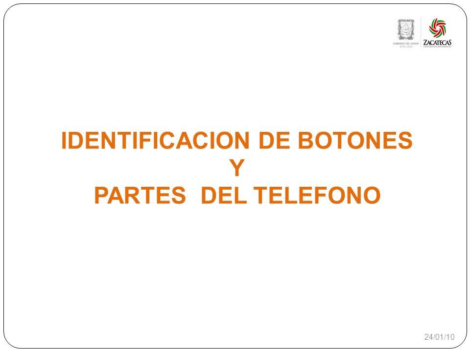 IDENTIFICACION DE BOTONES