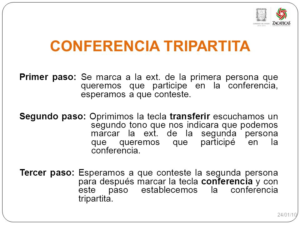 CONFERENCIA TRIPARTITA