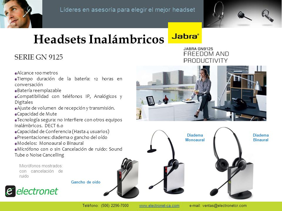 Headsets Inalámbricos