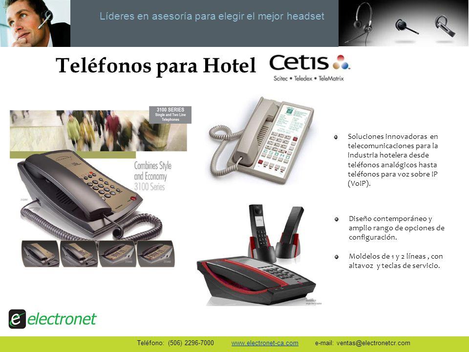 Teléfonos para Hotel