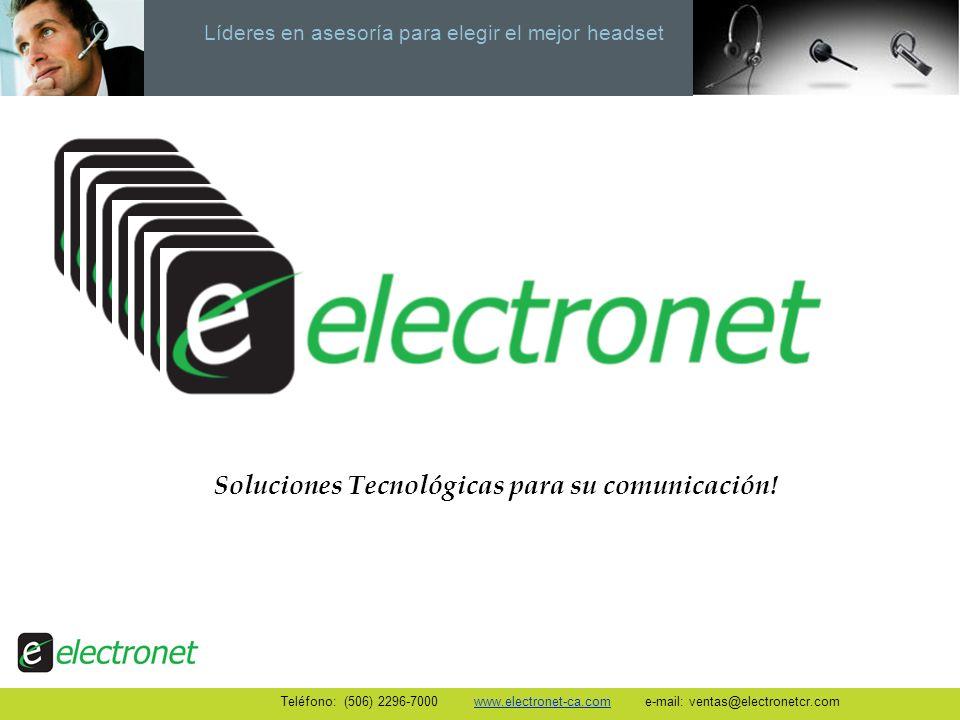 Soluciones Tecnológicas para su comunicación!