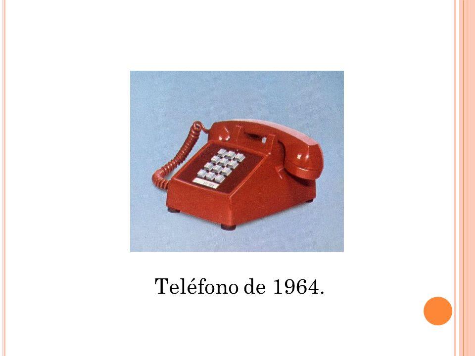 Teléfono de 1964.