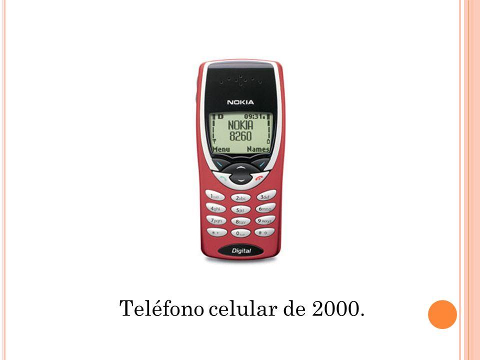 Teléfono celular de 2000.