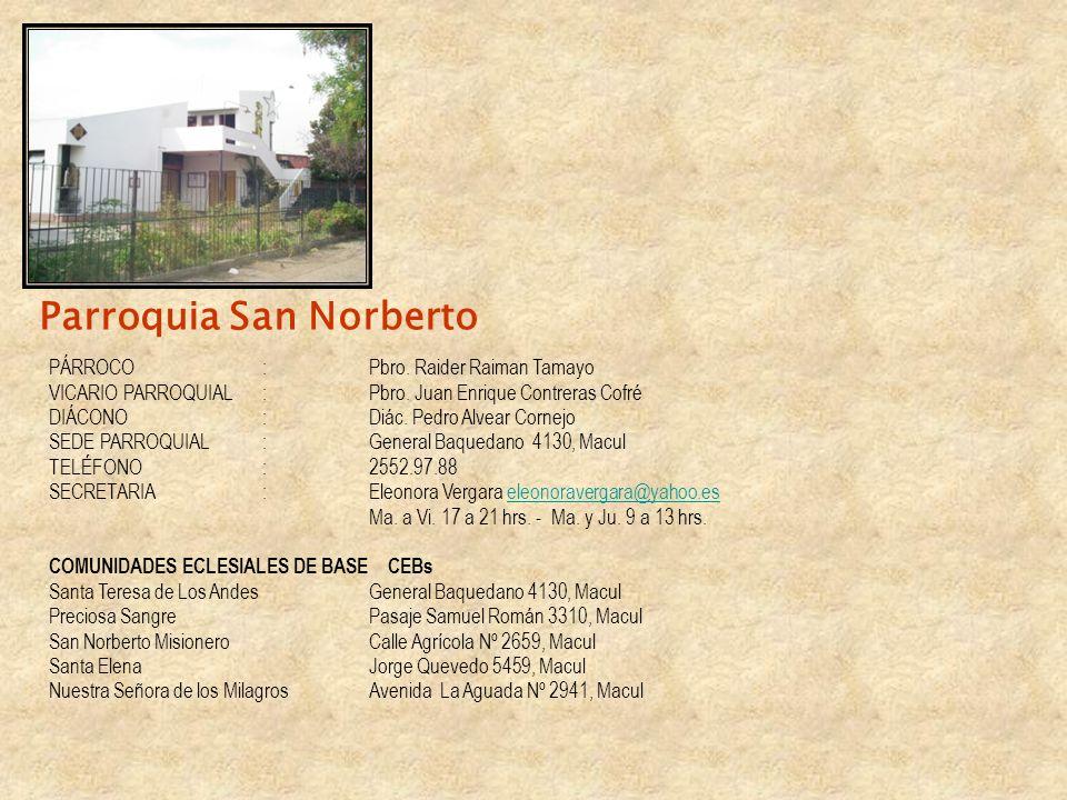 Parroquia San Norberto