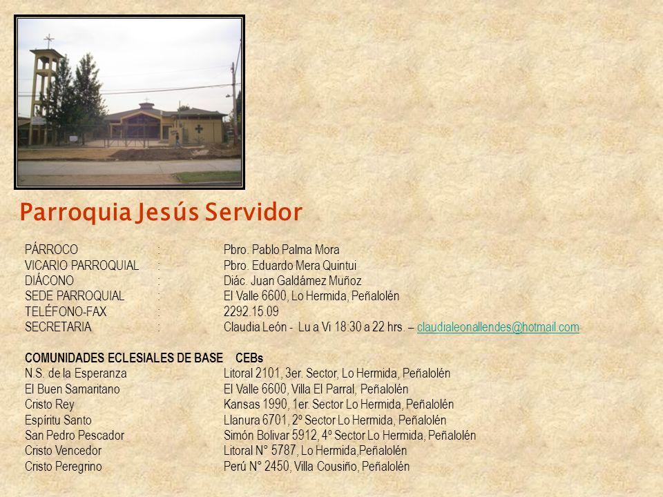 Parroquia Jesús Servidor