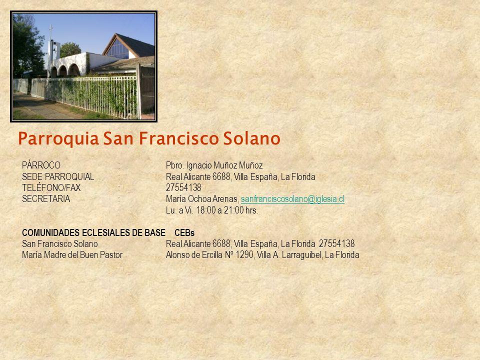 Parroquia San Francisco Solano