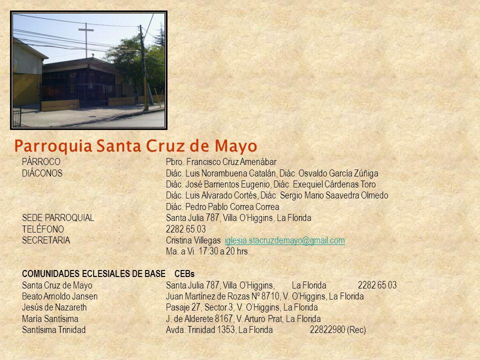Parroquia Santa Cruz de Mayo