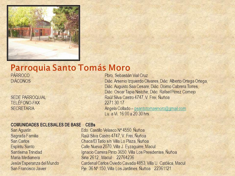 Parroquia Santo Tomás Moro