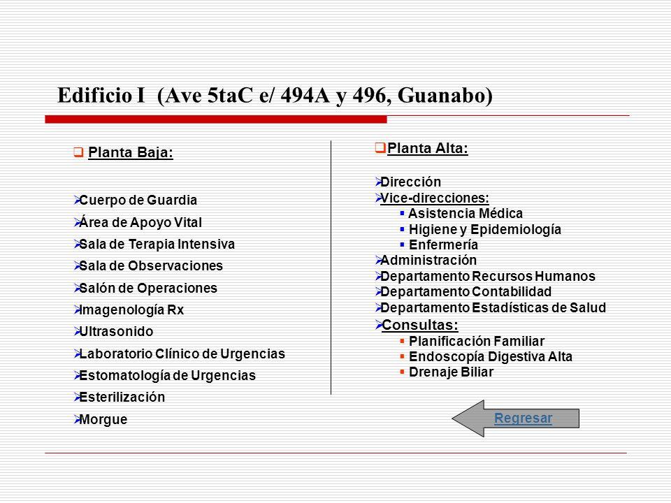 Edificio I (Ave 5taC e/ 494A y 496, Guanabo)