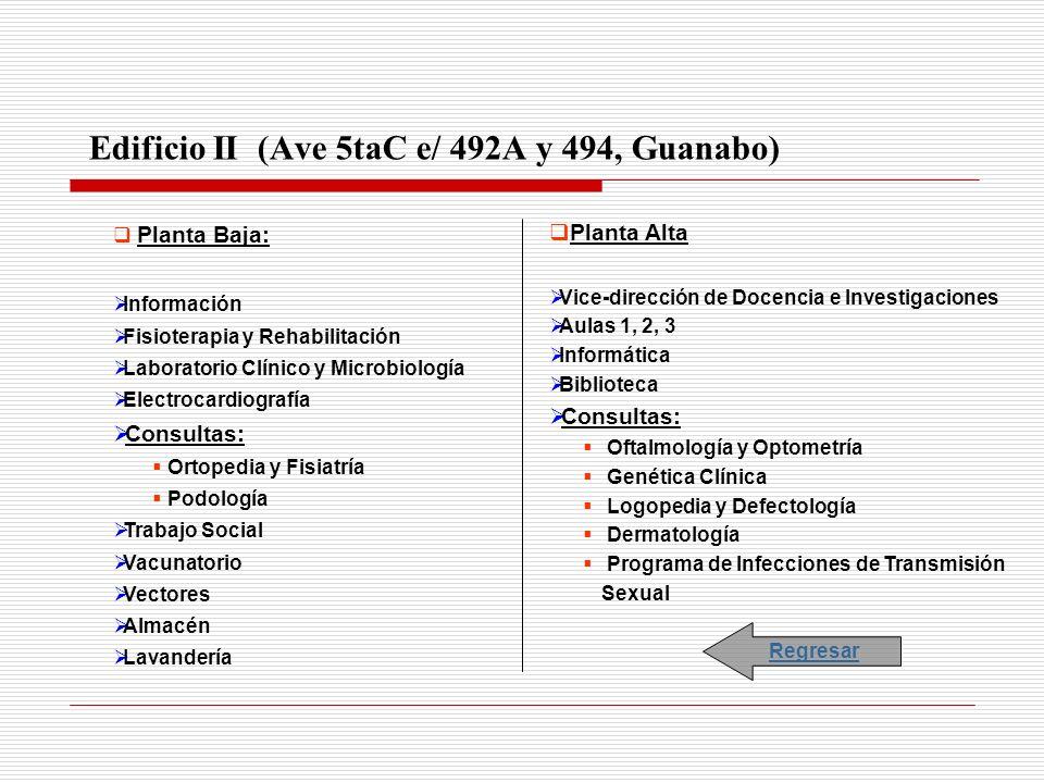 Edificio II (Ave 5taC e/ 492A y 494, Guanabo)