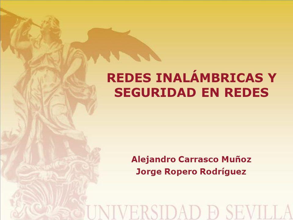 REDES INALÁMBRICAS Y SEGURIDAD EN REDES
