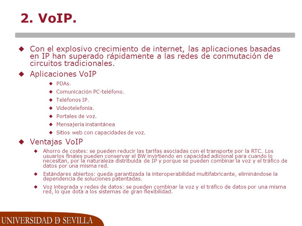 2. VoIP.