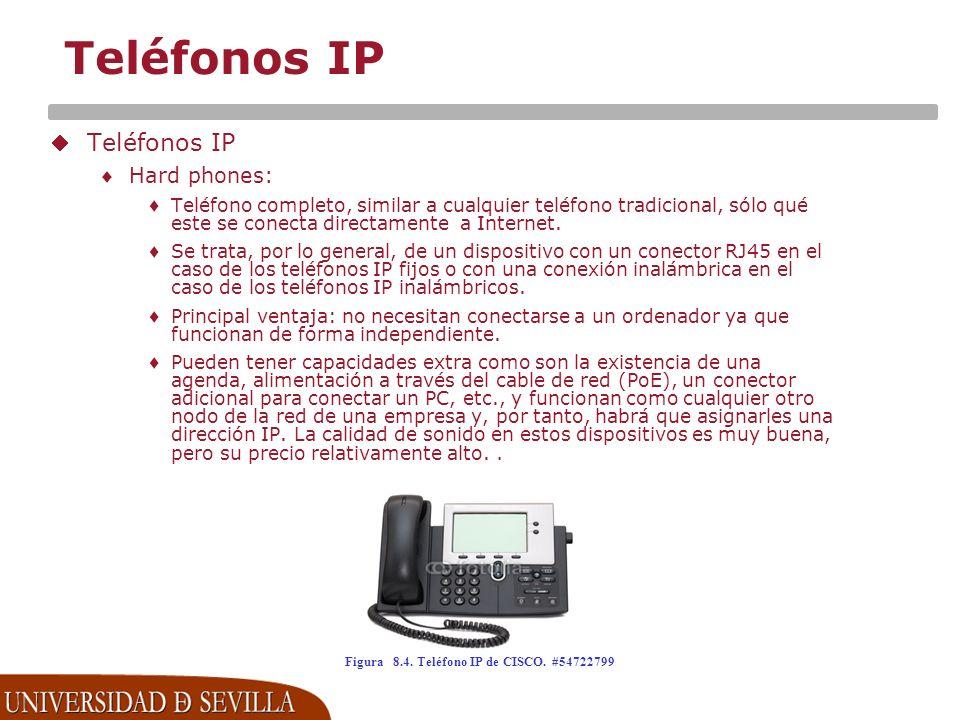 Figura 8.4. Teléfono IP de CISCO. #54722799