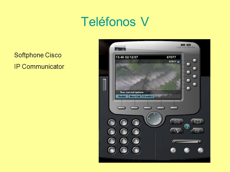Teléfonos V Softphone Cisco IP Communicator