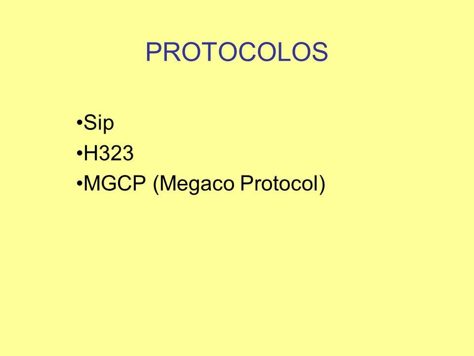 Sip H323 MGCP (Megaco Protocol)