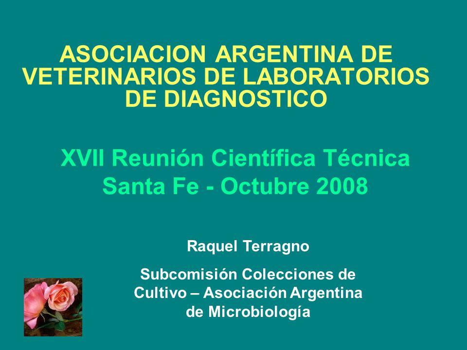XVII Reunión Científica Técnica Santa Fe - Octubre 2008